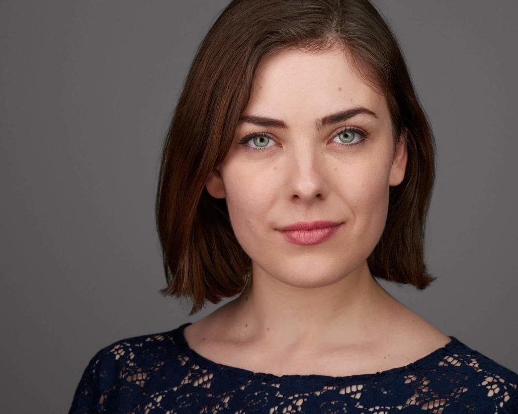 Headshot weiblich Schauspielerin Anne Berndt, Businessportrait weiblich