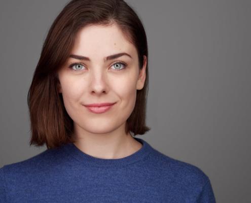 Headshot weiblich Actress Schauspielerin Anne Berndt, Businessportrait weiblich