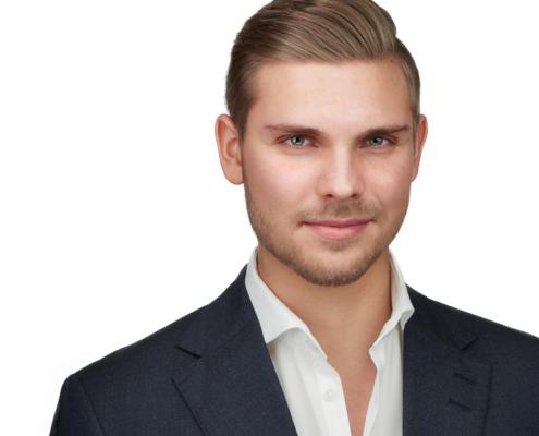 Young Entrepreneur Professional Headshot Xing Linkedin Businessportrait Düsseldorf Köln Krefeld