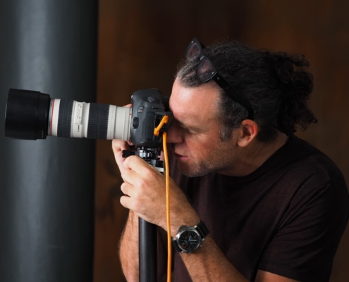 Headshotcrew - Peter Hurley bei der Arbeit